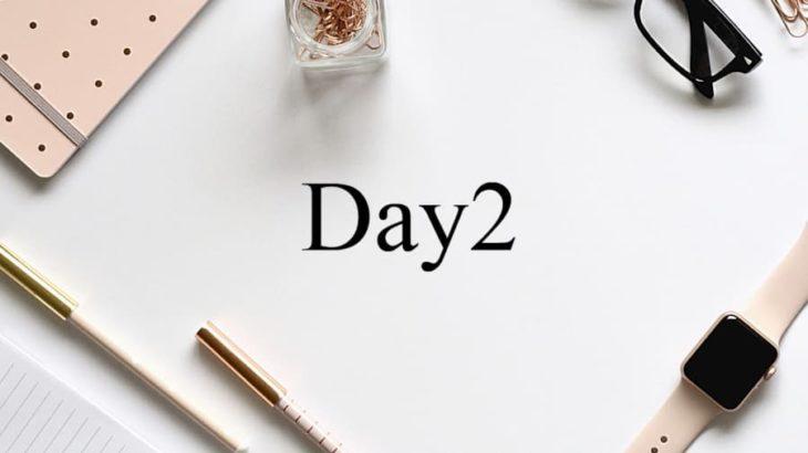 英語初心者の学習ノートDay2